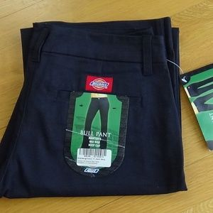 NWT Dickies Girl Stretch Bull Pant Bootcut 11